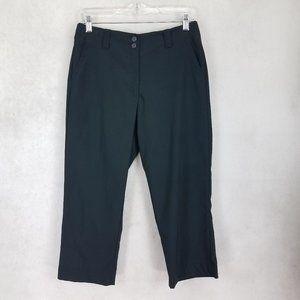 Nike Golf Dri Fit Women's 4 Cropped Pants Black L